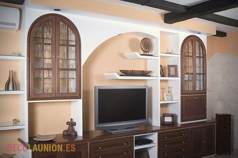 Muebles De Escayola. Mueble Salon Leioa. Otra Ventaja Que Tenemos ...